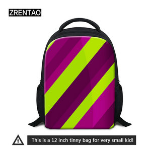 stripped kids backpack