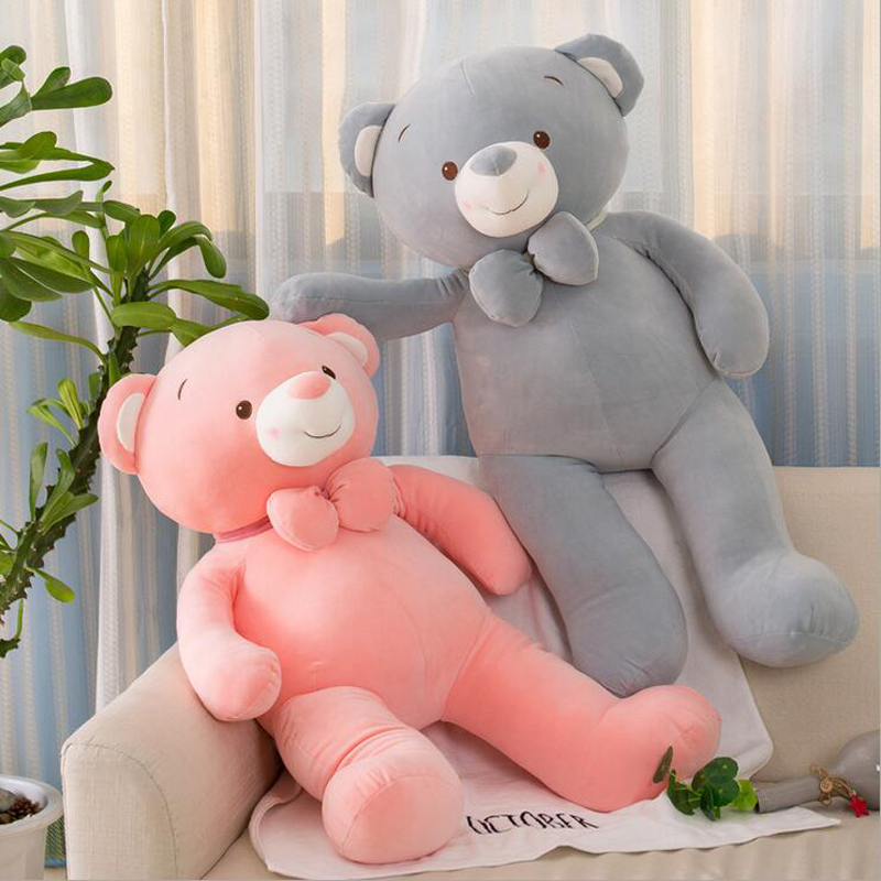New Arrival Teddy Bear Plush Toy Eiderdown Cotton Stuffed Soft Plush Doll Valentine 39 s Day amp Birthday Gift in Stuffed amp Plush Animals from Toys amp Hobbies