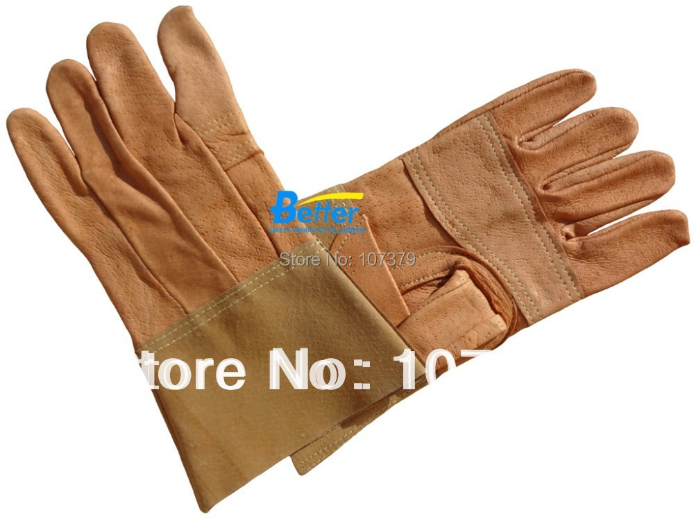 Leather Safety Glove TIG MIG Welding Glove Grain Pigskin TIG MIG Welding Work Glove leather safety glove deluxe tig mig leather welding glove comfoflex leather driver work glove