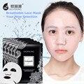 Máscara de colágeno Hidrogel Máscara Facial Cuidado Facial Skin Whitening Blanco de Encaje Coreano Cosméticos para La Cara de Control de Aceite Hidratante Hidratar