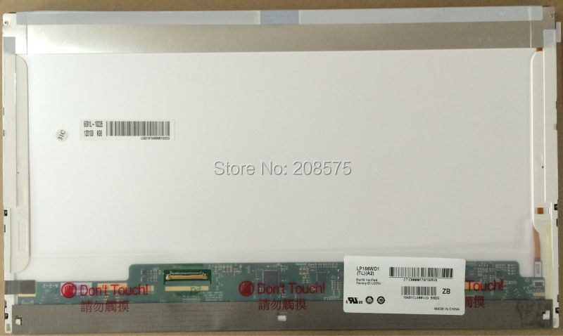 Free shipping! LP156WD1-TLA2 / TLA1 / TLB2 / TLB1 B156RW01 LTN156KT02 15.6 inch LCD screen 1600*900 with 40 pins штатив 2 fotomate lp 01 lp 01