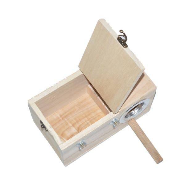 Parakeet fészek doboz, Budgie fészkelőház, tenyésztő doboz - Pet termékek - Fénykép 4