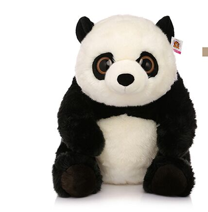 sitting height 42 cm lovely panda plush toy panda doll throw pillow Luxury gift birthday gift w6912 40cm super cute plush toy panda doll pets panda panda pillow feather cotton as a gift to the children and friends