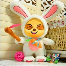 2016 new game animation around 40cm plush toy rabbit Teemo Pokemon plush toys children's toys birthday gift free shipping