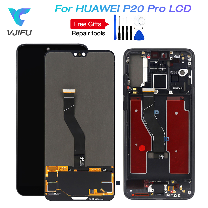 2240x1080 Original Amoled For 6 1 Huawei P20 Pro CLT AL LCD Screen display Touch Digitizer