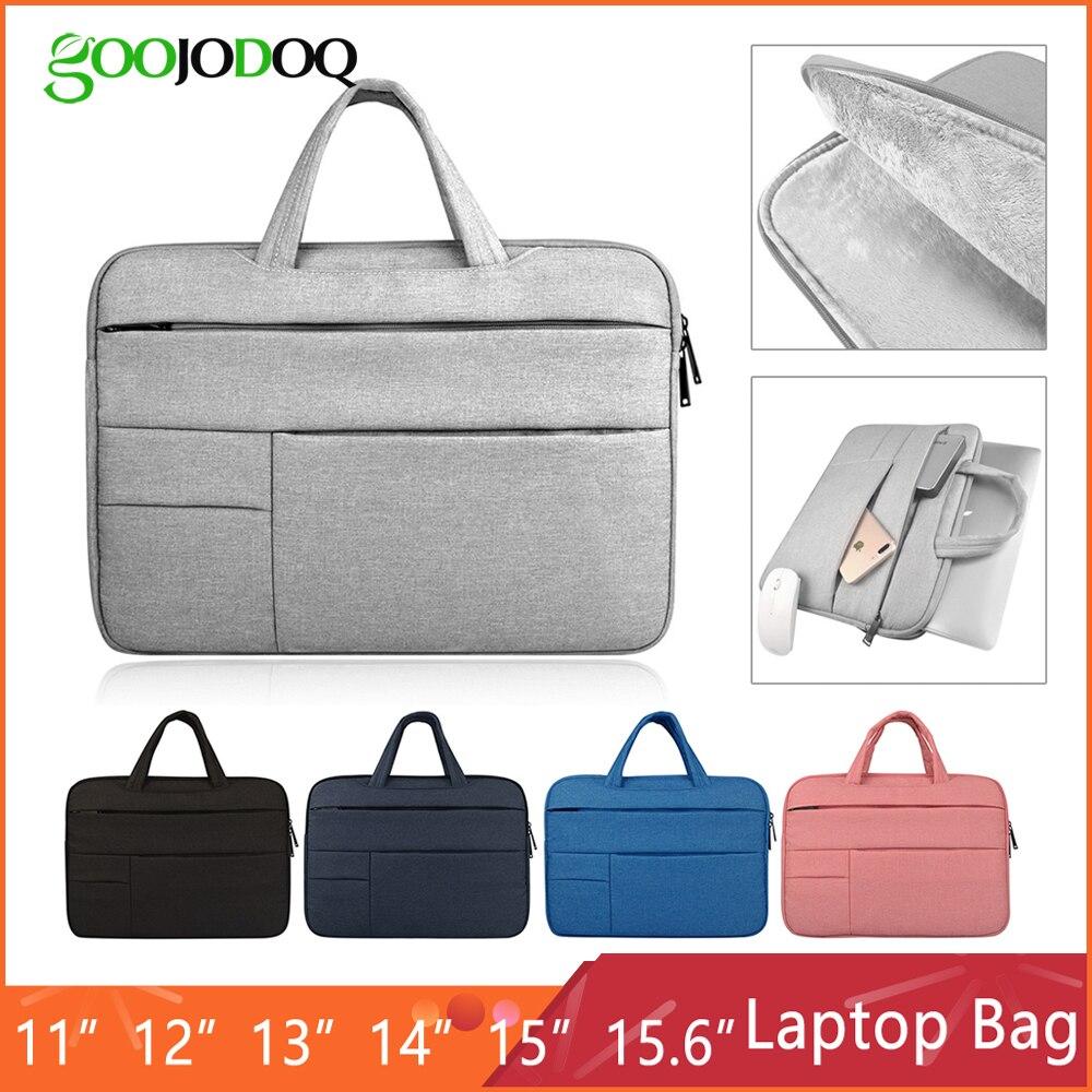 Laptop Sleeve Case Bag para Macbook Air 11 13 Pro 13 Pro 15 ''New Retina Ar 12 13 15 capa Bolsa Notebook 14