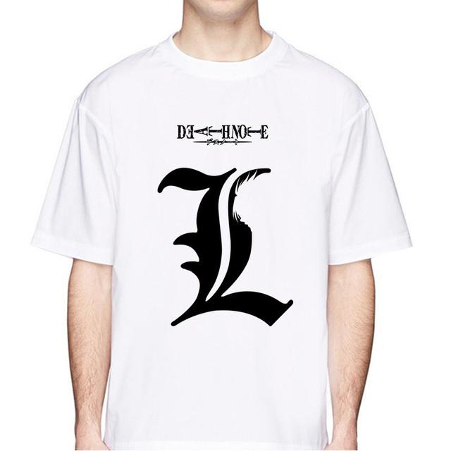 death note print t shirt