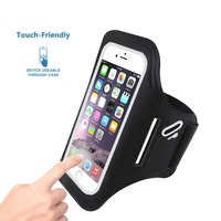 Popular Sports Lycra Soft Armband For IPhone 5s 6 7 Plus Samsung LG Xiaomi Up To