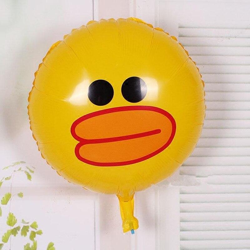 3pcs/lot  bear rabbit  Foil Balloons Inflatable toys cartoon Helium Balloon classic toys happy Birthday balloons Party Supplies