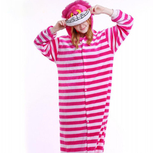 Animals Funny Onesie Flannel Pajamas Cartoon Anime Kugurumi  Panda Pokemon Unicorn Slumber Party Suit Adult Women Men Sleep Wear
