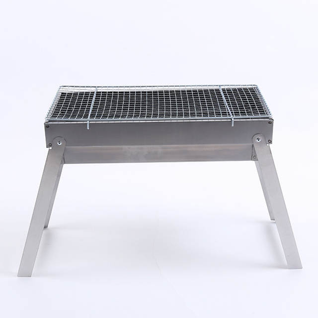 Portable Stainless Steel Fold Bbq Roasted Barbecue Tools Charbon