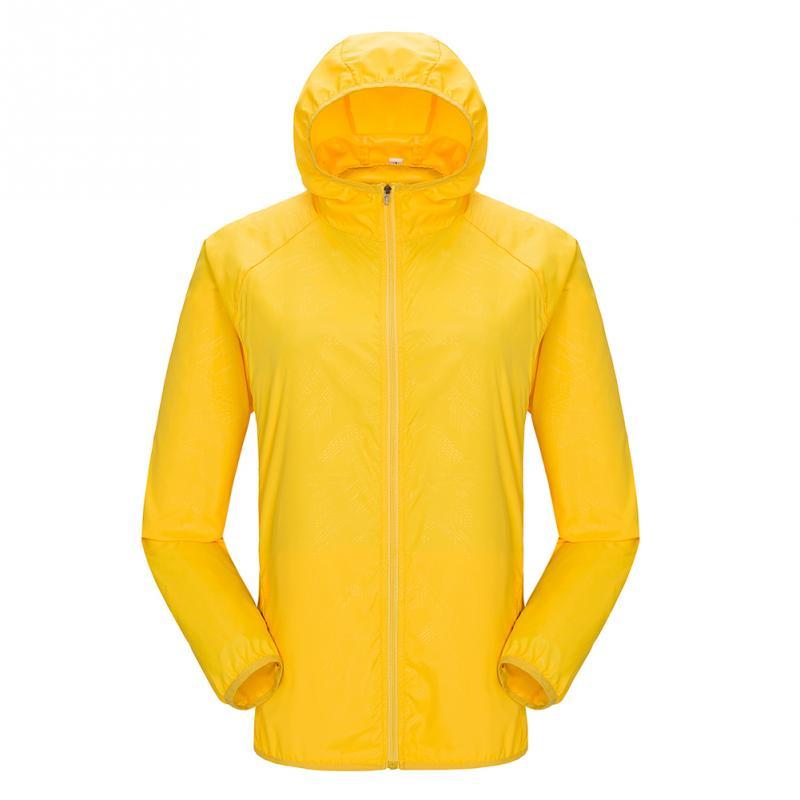 Outdoor Quick Dry Rain Coat Men Women Raincoat Hiking Travel Waterproof Windproof Jacket Bicycle Sports Sunscreen Unisex #2
