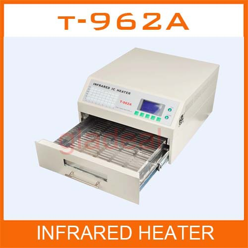 Puhui 1500W T962A Infrared IC Heater Reflow Oven Soldering Machine For BGA SMD Rewrok Station CE Certificate ph015 puhui t 835 110v 220v bga irda welder infrared bga soldering and desoldering smd rework station t835