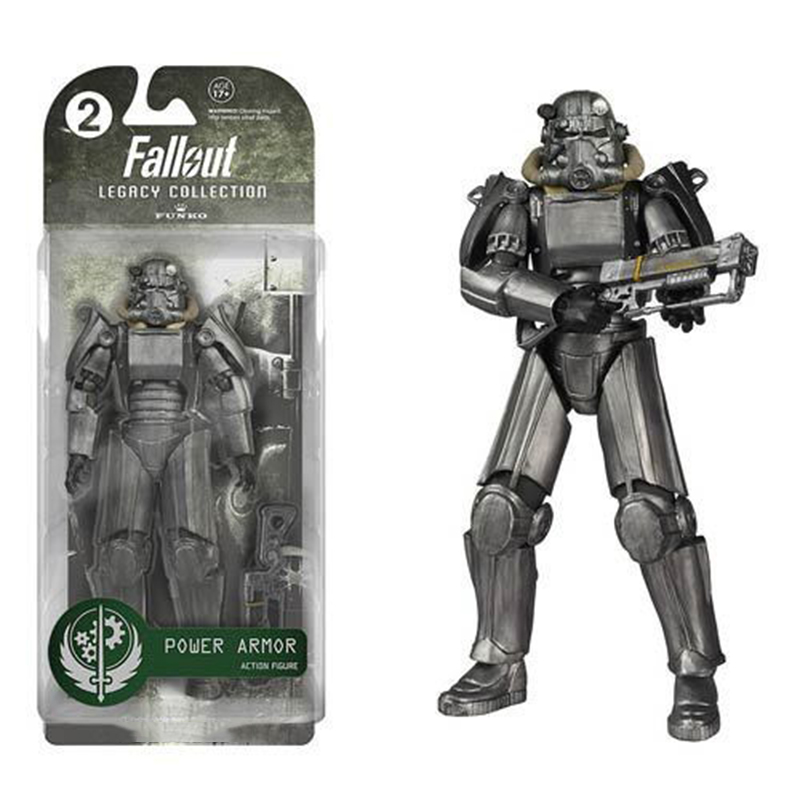 Two Colors Fallout 4 PVC Action Figure 8 Power Armor Out of Clothing Toys Gifts Collections Displays Brinquedos брелок funko pop fallout – power armor