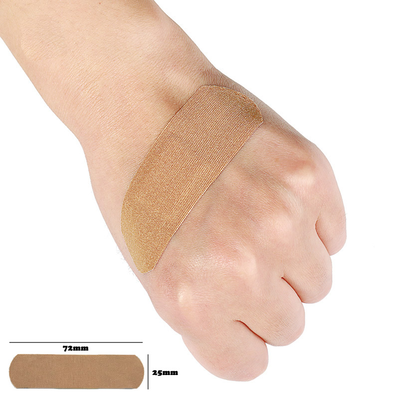 20/50/100Pcs Elastic Wound Adhesive Plaster Breathable Skin Medical Band-Aid First Aid Home Travel Outdoor Camp Emergency Kits