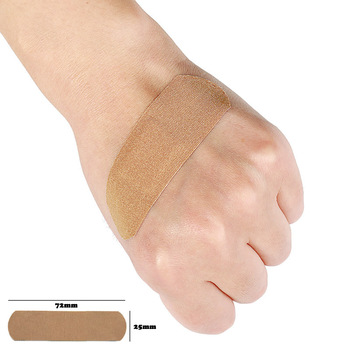 20/50/100Pcs Elastic Wound Adhesive Plaster Breathable Skin Medical Band-Aid First Aid Home Travel Outdoor Camp Emergency Kits - discount item  11% OFF First Aid Kits