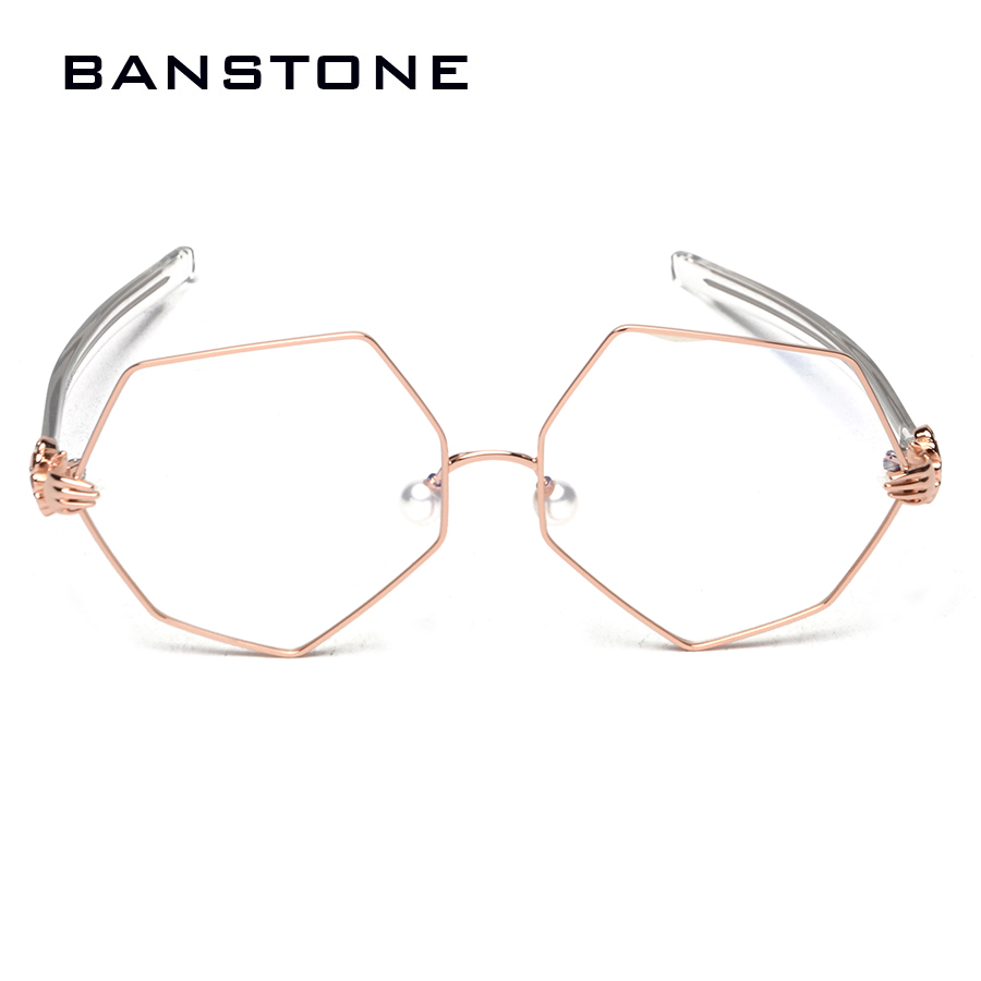 BANSTONE 2017 Marke Brillen Rahmen Frauen Brillen Klare Linse Gläser ...