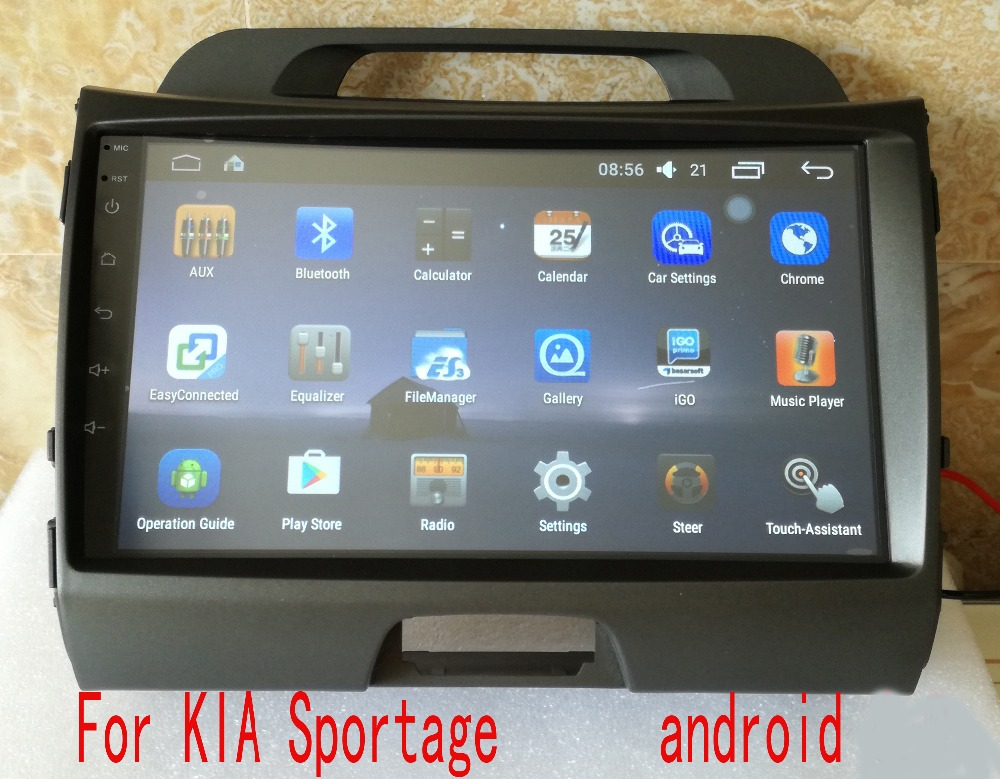 android  car dvd player FOR KIA Sportage audio multimedia auto stereo