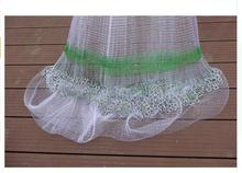 Japanese Korean style fishing net hand throw chain network small mesh cast net outdoor sports throw fishing net tool