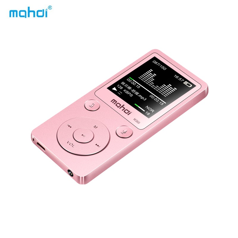 8G 1.8 inch MP4 Player Metal MP4 Music Player Mahdi M360 HD Screen OTG Built-in Speaker Support Video Music Recording Picture FM image