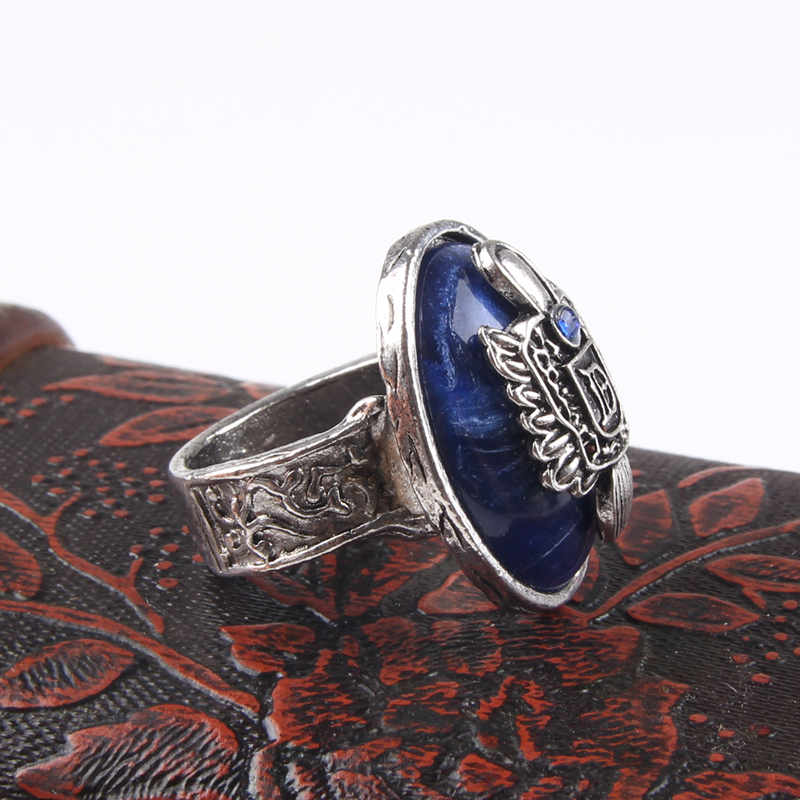 AE-CANFLY The Vampire Diaries Vintage Ring Damon Salvatore - Modeschmuck - Foto 4