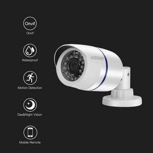 Image 2 - IP камера видеонаблюдения AZISHN H.265/H.264 FULL HD 1080P 2,0 мегапикселей onvif 24IR наружная камера видеонаблюдения IP 1080P DC 12 В/48 в PoE