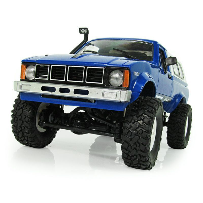 <font><b>WPL</b></font> <font><b>C24</b></font> RC Car 1:16 4WD Remote Control 2.4G Crawler Off-road Buggy Moving Machine Kids Gift image