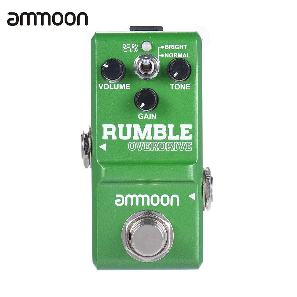 Prix pour Ammoon Nano Série Ronde et Lisse Style Overdrive Effet Guitare Pédale True Bypass En Aluminium Alliage Guitare Pièces & Accessoires