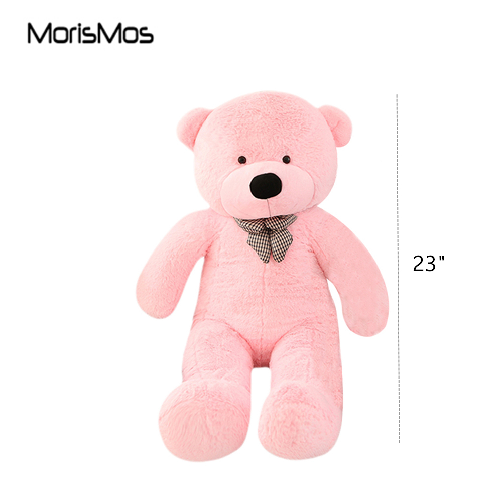 MorisMos Pink/White 23'' Teddy Bear Cute Soft Toys Adorable Teddy Bear Stuffed  Animal for Girlfriend Baby Children-in Stuffed & Plush Animals from Toys ...