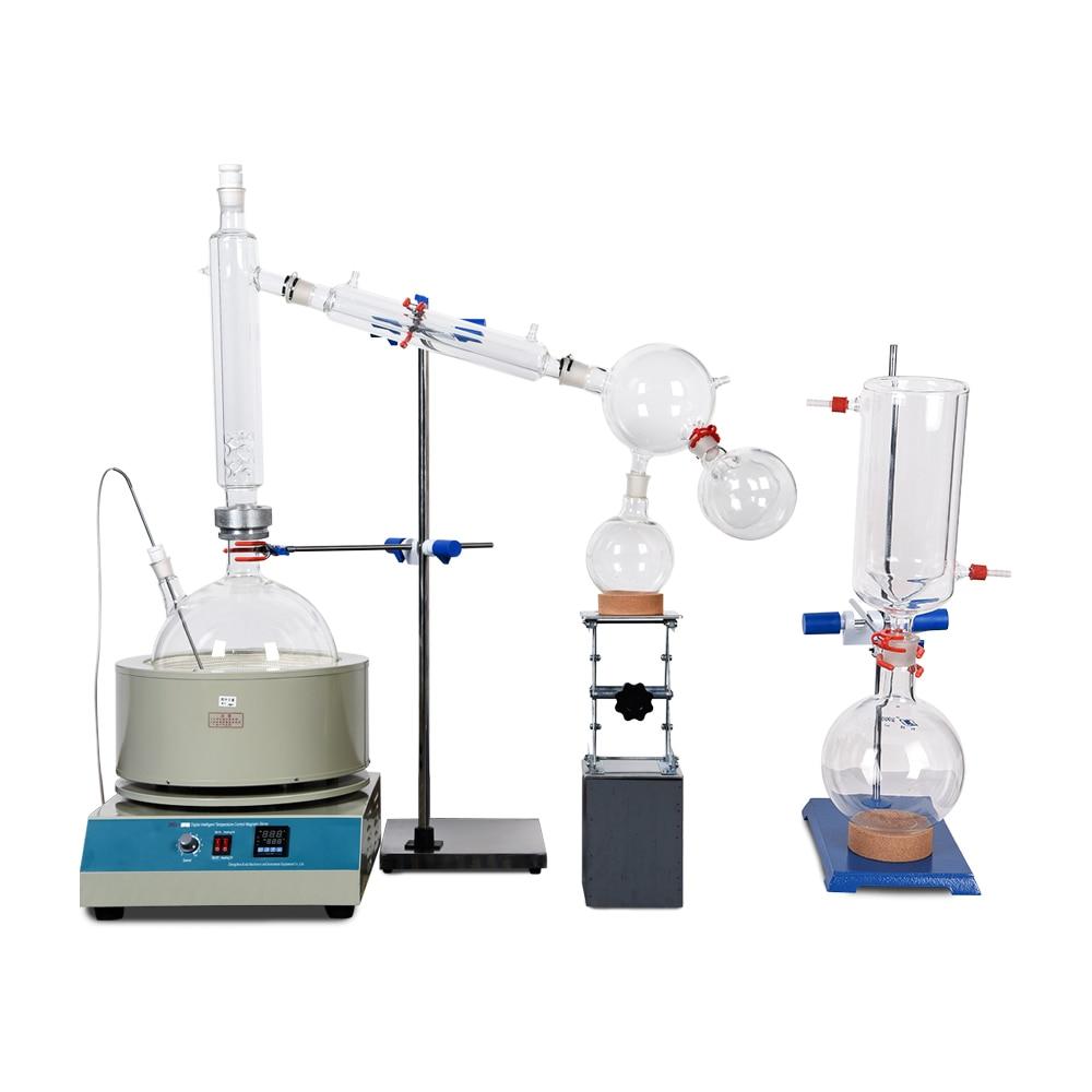 Лабораторное оборудование для нагрева заводская цена Лабораторные пробирки 20L Дистилляция на коротком пути