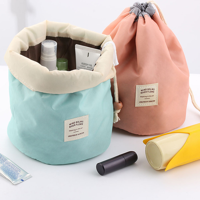 08e7ea520c8b US $3.09 5% OFF|HOT Travel Makeup Bag Cosmetic Pouch Handbag Toiletry  Antique Case Cylindrical Cosmetic Storage Travel Case Home Living  Organize-in ...