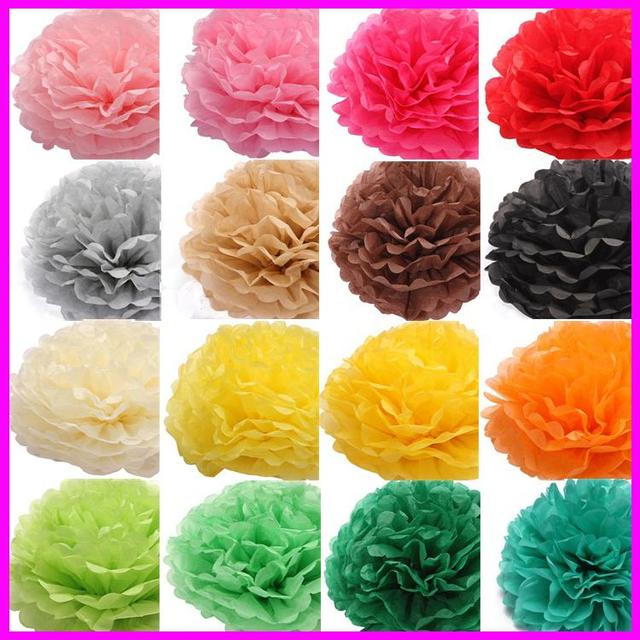 10 pcs diy multicolor tissue paper flower balls pom poms wedding 10 pcs diy multicolor tissue paper flower balls pom poms wedding hanging flower balls birthday party mightylinksfo