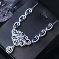 Роскошный сапфир ожерелье для торжеств и вечеринок 16 шт. 3*5 мм природный темно-синий сапфир твердого тела 925 серебро, сапфир ожерелье