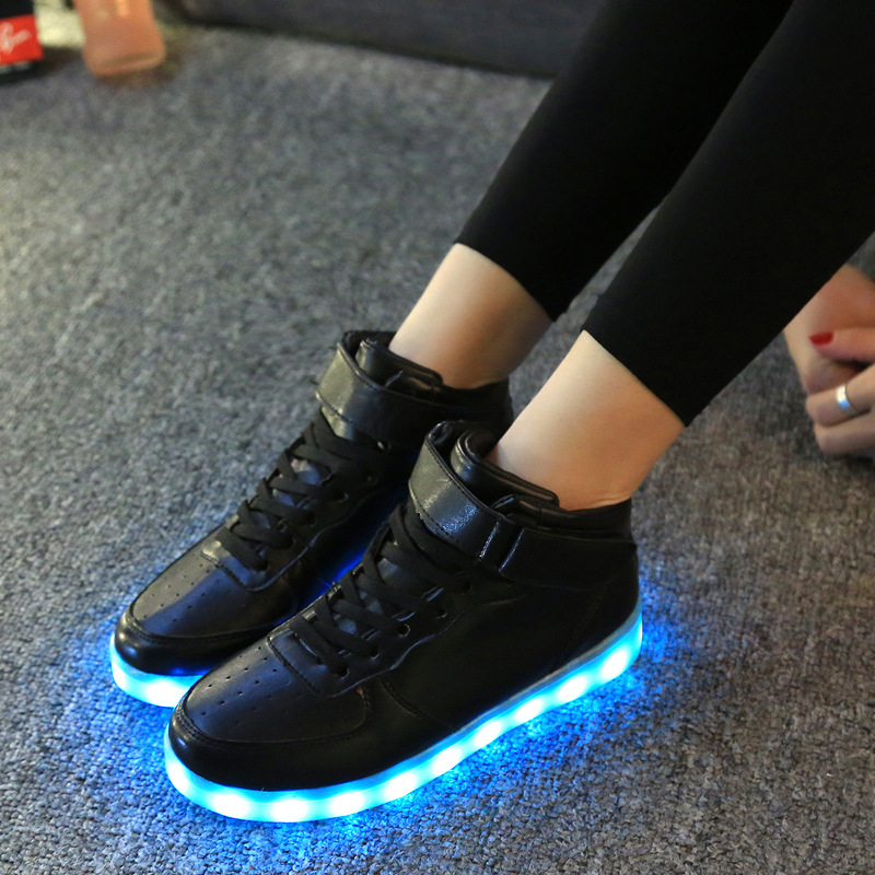 7ipupas-High-quality-Low-price-Luminous-Sneakers-Kids-Boys-Girls-USB-Charger-Led-Light-Shoes-Unisex-High-Top-Sports-for-children-3