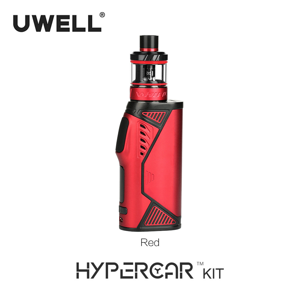 Uwell 80W Hypercar Kit with 2/3.5ml Whirl Tank Atomizer Powered by 18650 battery (Without Battery) E-cigarette Vape Kit