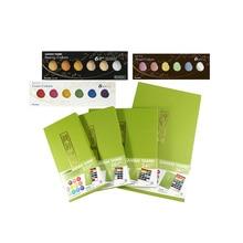 ZIG Kuretake pigmento Gansai Tambi Pittura Ad Acquerello Stellato/Perla/Gemma Colori Giapponese Solid pigment Per Il Disegno Rifornimenti di Arte