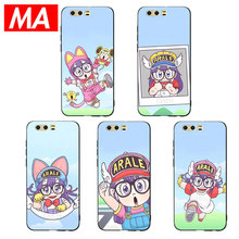 MA Japanese cartoon Arale Phone Case For Huawei P20 P10 P9 Lite Pro Cases Ultra-thin TPU Cover For Honor 8 9 10 Lite Mate 10 20