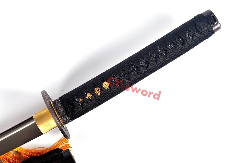 Əl Döyməsi 1060 Polad Tam Tang Bıçaq Yapon Katana Samurai - Ev dekoru - Fotoqrafiya 6