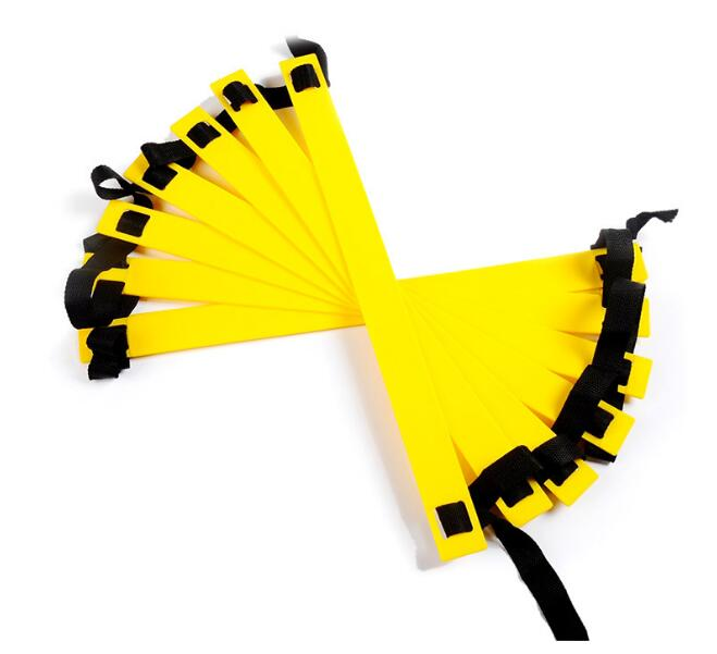 Wholesale 10pcs/lot 3Meter 6 Rung Soccer Speed Football Fitness Feet Training Agility Ladder