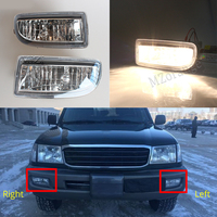 1 Pair Left Right Fog Lights For Toyota Land Cruiser 100 HDJ100 1998 1999 2000 2001 2002 2003 2007 LC 100 105 Driving Lamps