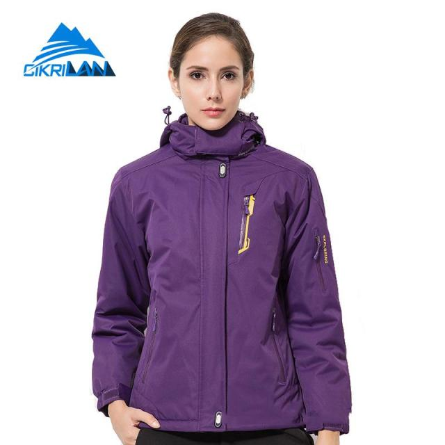 ca4529a957 Womens Winter Coat Windbreaker Waterproof Jacket Women Outdoor Sport  Camping Fishing Hiking Jackets Snowboard Ski Climbing Coats