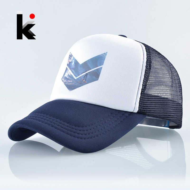 Mesh Baseball Cap Men Summer Outdoor Sport Snapback Hat Women Racing Cap  Hip Hop Casquette Skateboard 704dba0b749a