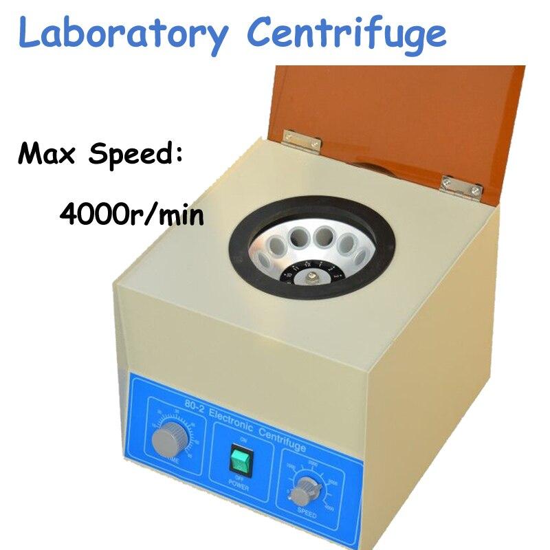 Electric 90W Electric Centrifugal Machine Electric Centrifuge Lab 4000Rpm Electric Centrifuge 80-2 handheld mini chemical centrifugal machine centrifuge lx 300 10000 rpm