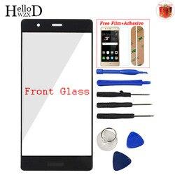 Переднее стекло для Huawei P9 Plus объектив переднее внешнее стекло экран сенсорная панель (без дигитайзера) Бесплатный клей + Защитная пленка под...