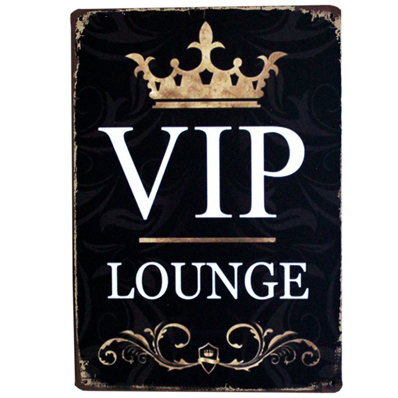 [ Mike86 ] VIP Metal Tin sign Vintage Poster Pub Home Party Decoration 20*30 CM AA-426