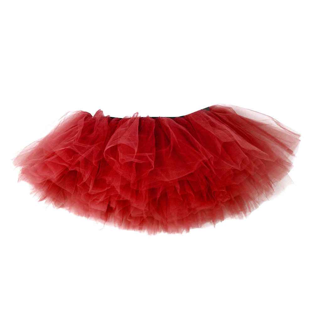 2019 MAXIORILL NEW Hot Sexy Fashion Pretty Girl Elastic Stretchy Tulle Adult Tutu 5 Layer Skirt Wholesale T4 25