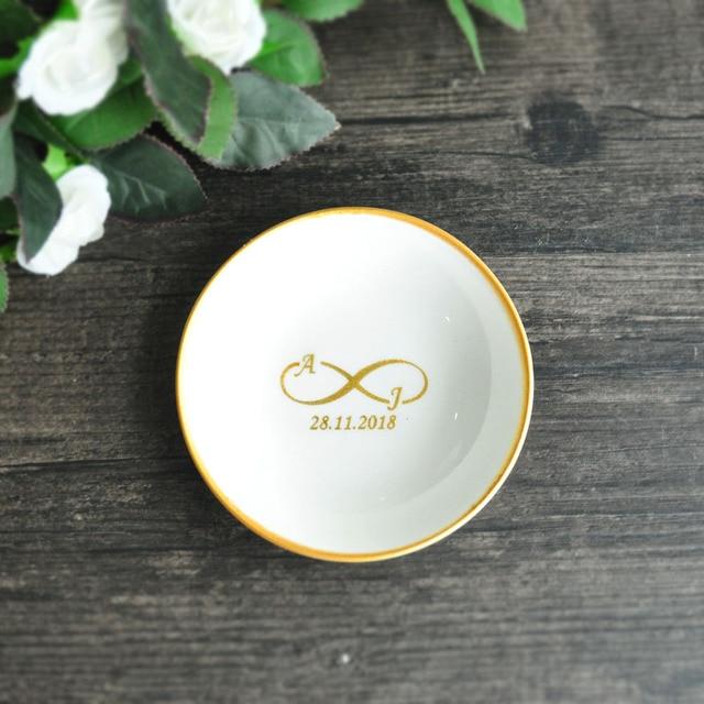 74eea8c41b Personalized Ring Dish, Jewelry Dish,Wedding Ring Dish,Engagement Ring  Holder,Wedding Ring Holder,Wedding Gift