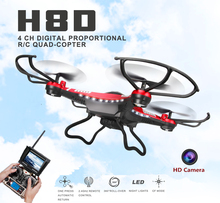 Jjrc H8D FPV Drones With Camera Hd Hexacopter Professional Dron Rc Quadcopter Flying Helicopter Copter Drones  With 2MP Camera