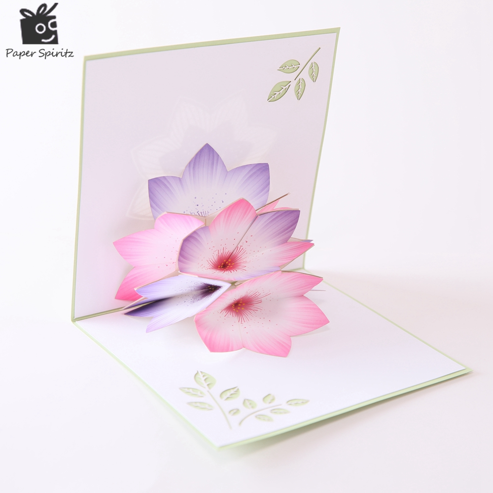 The mothers day birthday greeting thank you post cards 3d the model no g2058c name the rainbow flower size 591591 weight 39g color green envelopes yes seals no packing opp bag kristyandbryce Choice Image