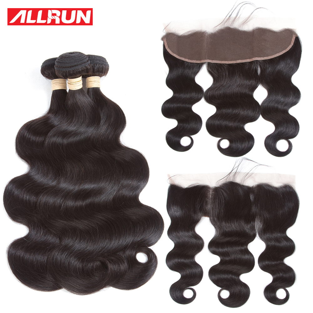 461dae25b0 Brazilian Body Wave 13 4 Lace Frontal Closure With Hair Bundles 2 3  Brazilian